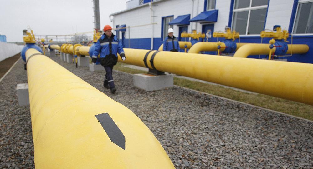 محطة نقل الغاز الروسي