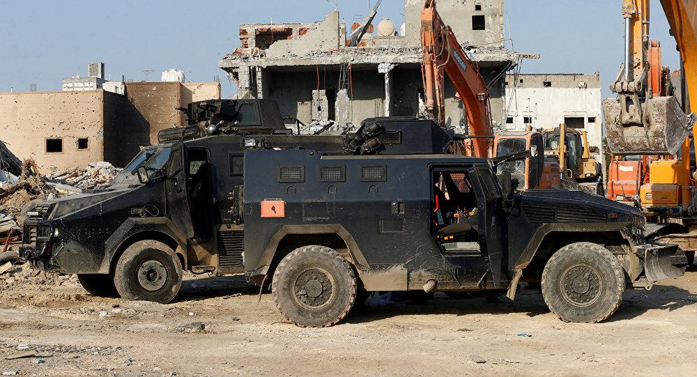 مدرعات الشرطة السعودية في العوامية