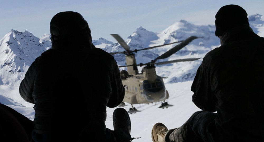الجنود الأمريكيون في ألاسكا