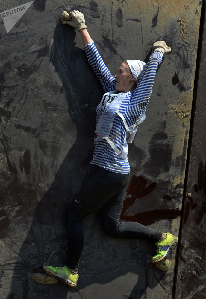 مشاركة في سباق الأبطال في مدينة فلاديفوستوك