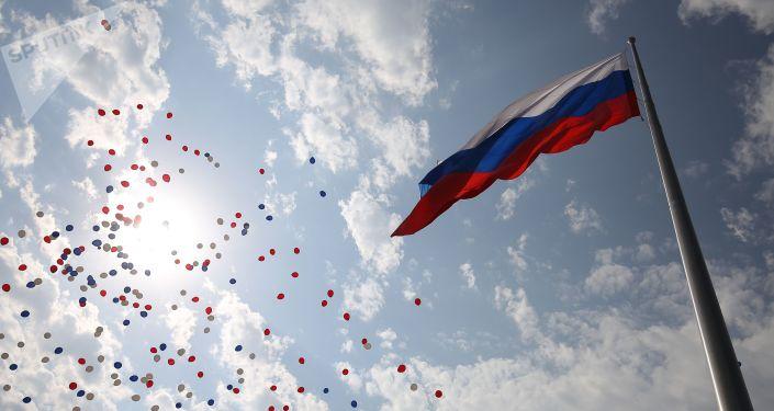يوم العلم الوطني لروسيا في كراسنودار