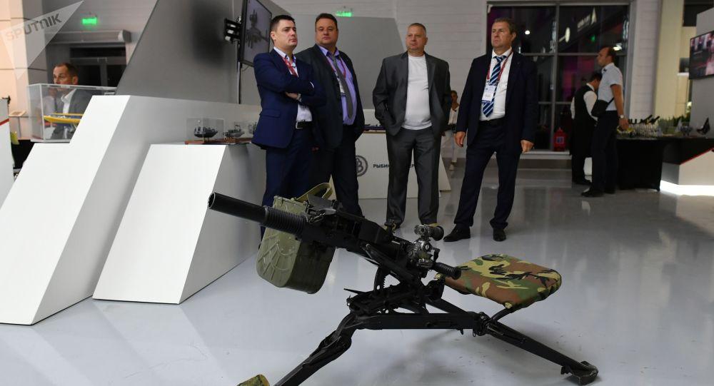 عرض كلاشينكوفالمحدث في معرض منتدى الجيش -2017
