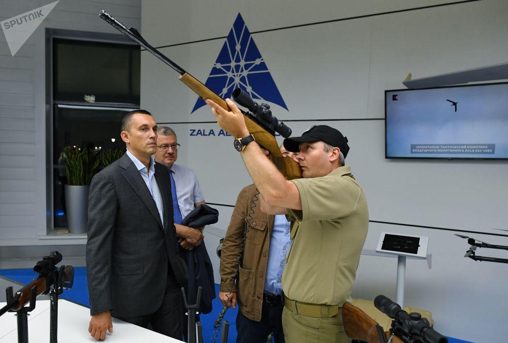 عرض سلاح كلاشنيكوف المحدث في معرض منتدى الجيش -2017