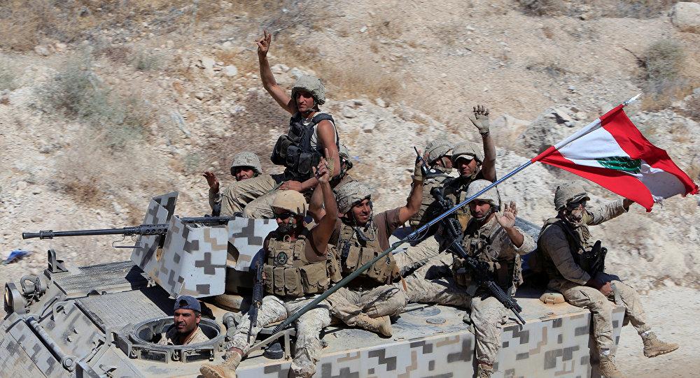 الجنود اللبنانيون في راس بعلبك