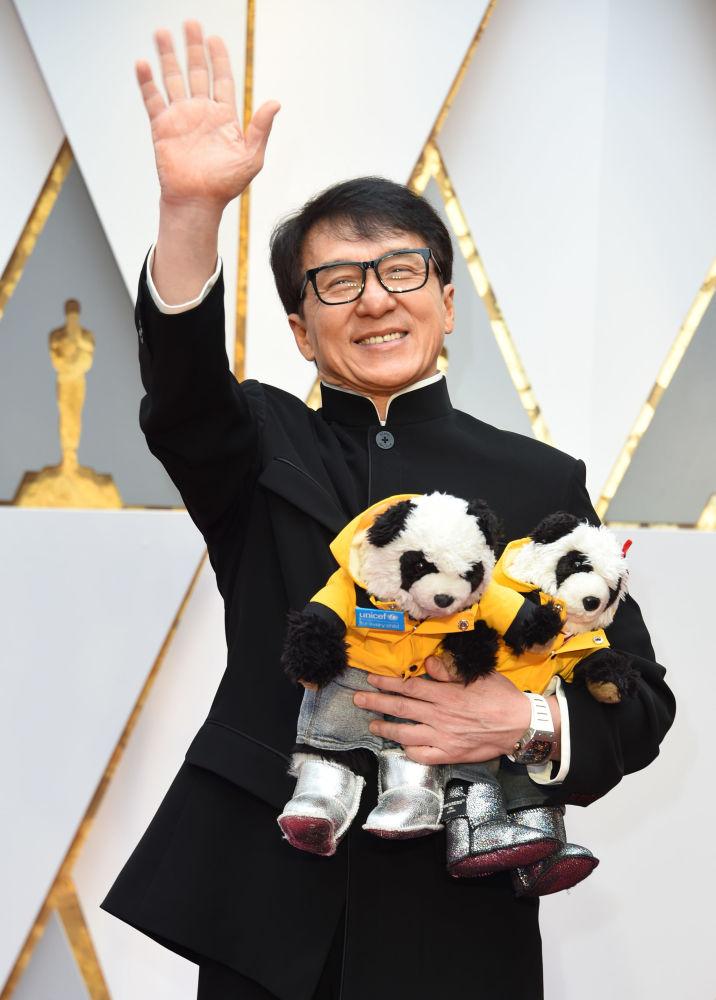 الممثل جاكي شان
