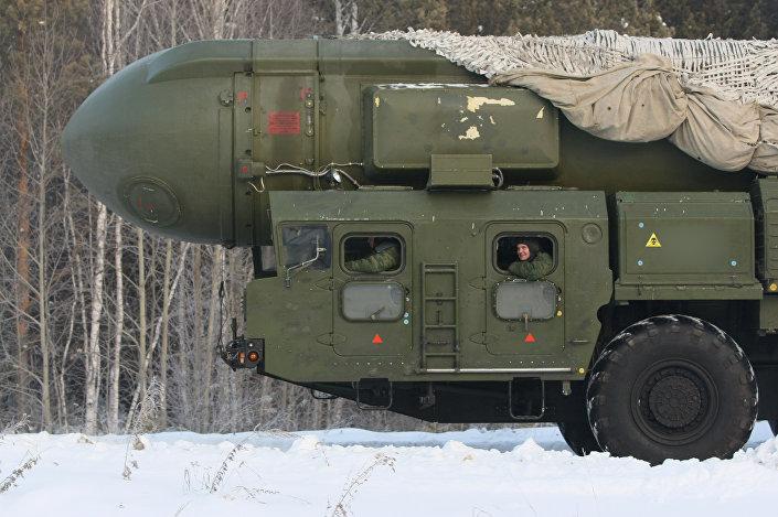 منظومة توبول للصواريخ الاستراتيجية