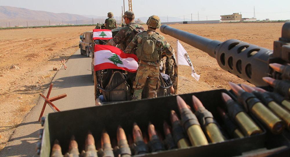 الجيش اللبناني في الجرود اللبنانية