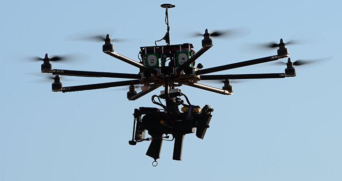 طائرة بدون طيار غرانات فا 1200 المزودة ببندقية كيدر