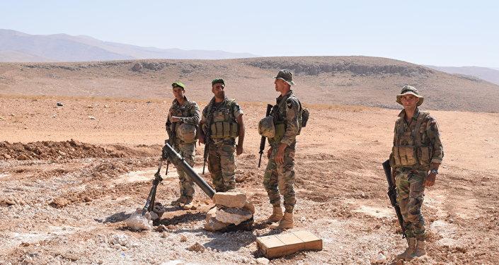 لجيش اللبناني في جرود رأس بعلبك