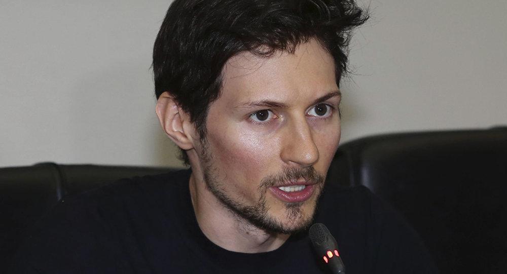 مؤسس شبكة تليغرام الروسي بافيل دوروف