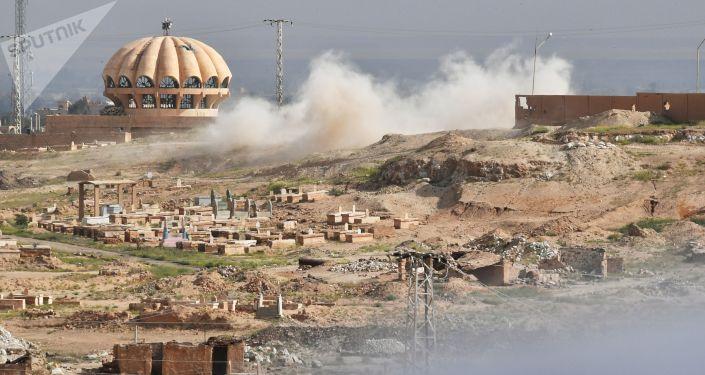 أحد أطراف مدينة دير الزور (صورة ارشيفية)