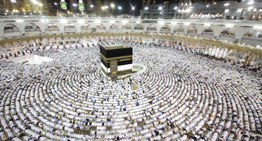 أداء مناسك الحج في قلب مكة، 25 أغسطس/ آب 2017