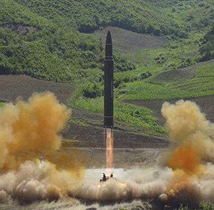 إطلاق صاروخ خواسون - 14 في كوريا الشمالية