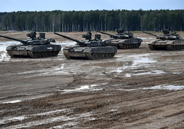 دبابات الجيش الروسي