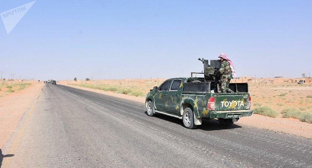 الجيش السوري في دير الزور، سوريا