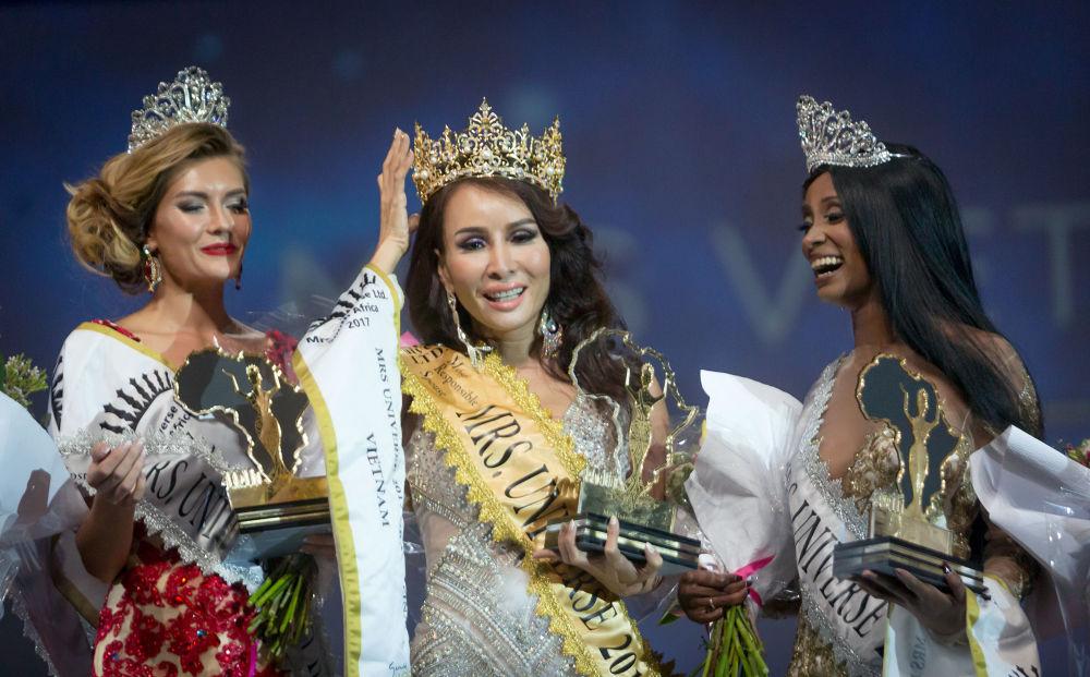 الفيتنامية ترام هوانغ لو تفوز بلقب ملكة جمال الكون دوربان، 2 سبتمبر/ أيلول 2017