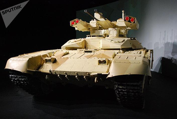 آلية الدعم الناري للدبابات ترميناتور