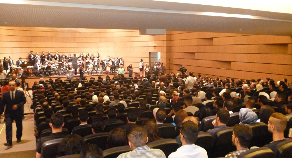 افتتاح مؤتمر الشباب الأول في سوريا