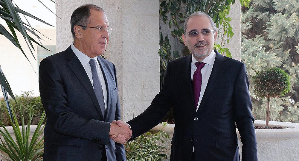 زيارة وزير الخارجية الروسي سيرغي لافروف إلى الأردن