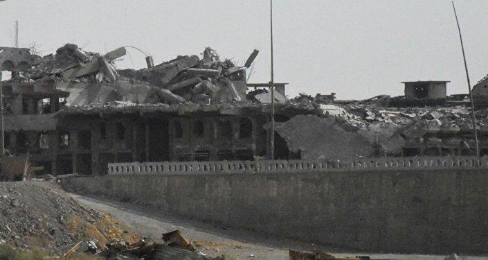 الدمار في الموصل، شمال العراق