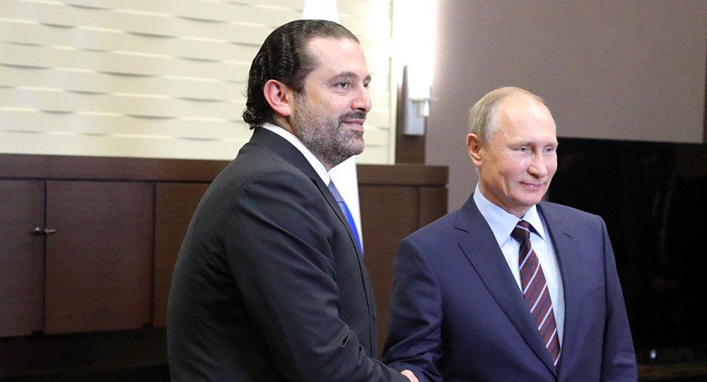 نتيجة بحث الصور عن بوتين والحريري