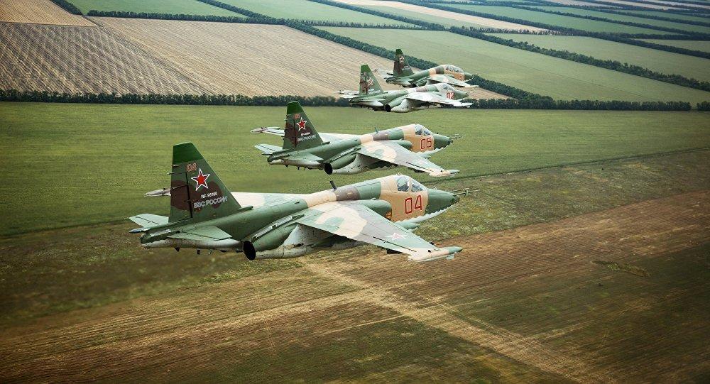 المقاتلات القاذفة سو-25إس إم3