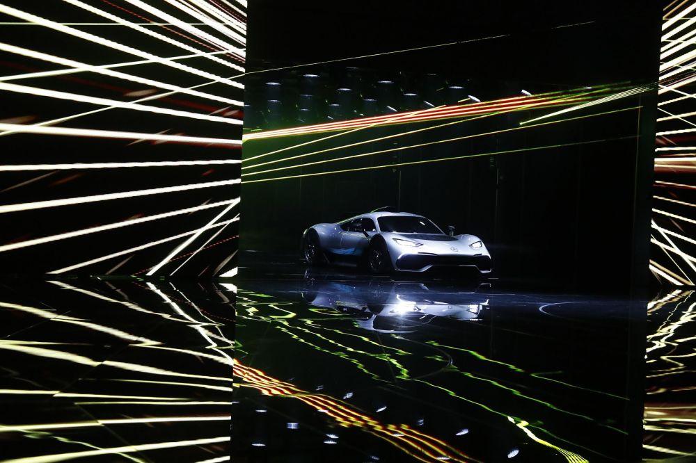 مرسيدس أمغ بروجيكت وان في معرض فرانكفورت للسيارات