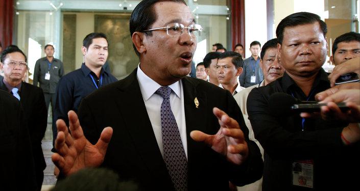 رئيس كمبوديا هون سين
