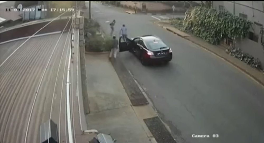 حادث سرقة في جنوب أفريقيا