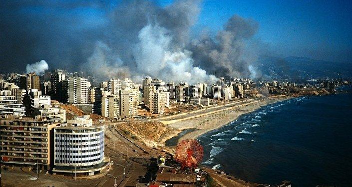 بيروت أيام الإجتياح عام 1982