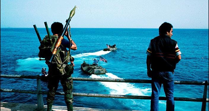 مقاتل في بيروت