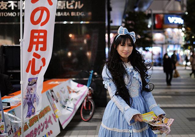 فتيات يابانيات