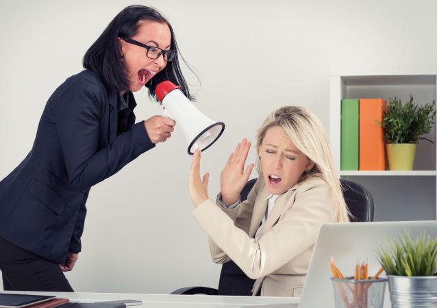 الصراخ والهيستيريا لدى المرأة