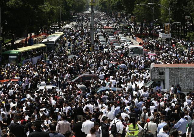 زلزال قوته 7.1 درجة ضرب وسط المكسيك، 19 سبتمبر/ أيلول 2017