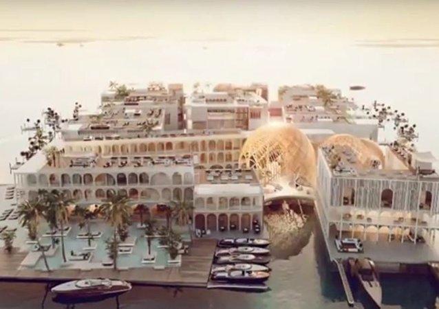 مدينة البندقية في دبي