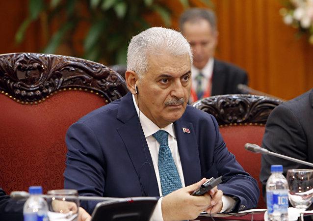 رئيس وزراء تركيا بن علي يلدريم