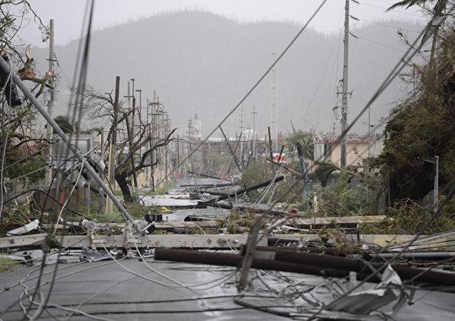 سلطات بورتوريكو تعلن أن عودة الكهرباء الى جميع انحاء الجزيرة قد تستغرق شهورا