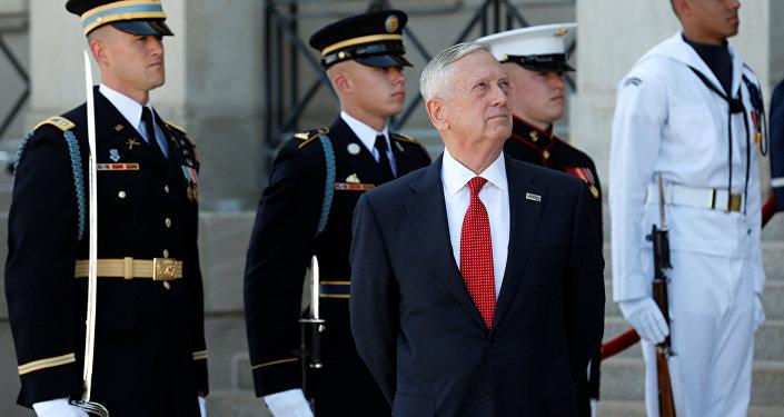 وزير الدفاع الأمريكي جيمس ماتيس