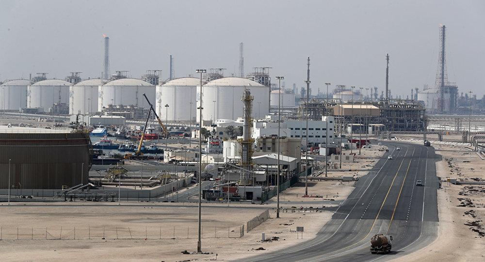 إنتاج الغاز المسال في قطر