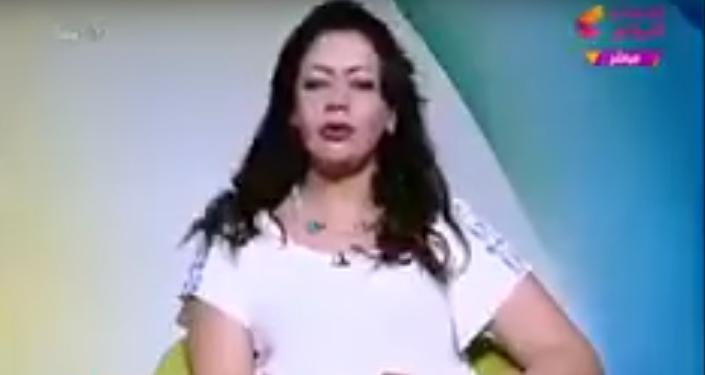 مذيعة مصرية