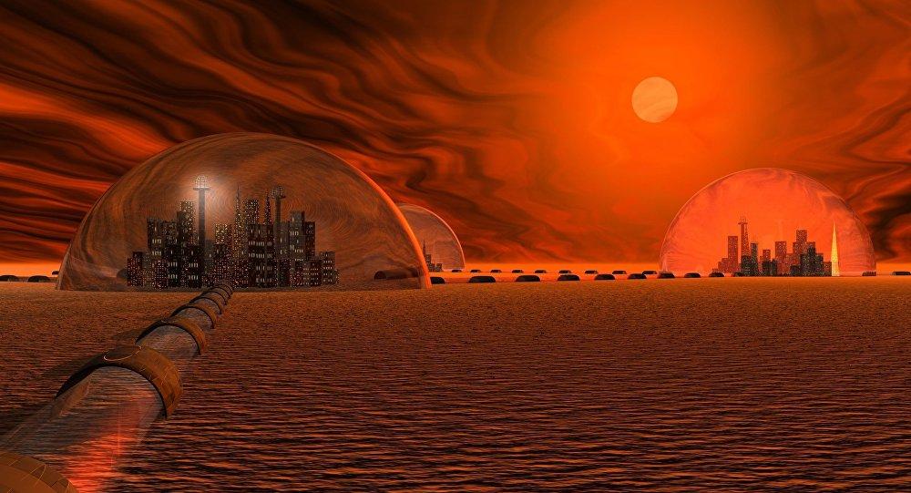 مدينة على المريخ