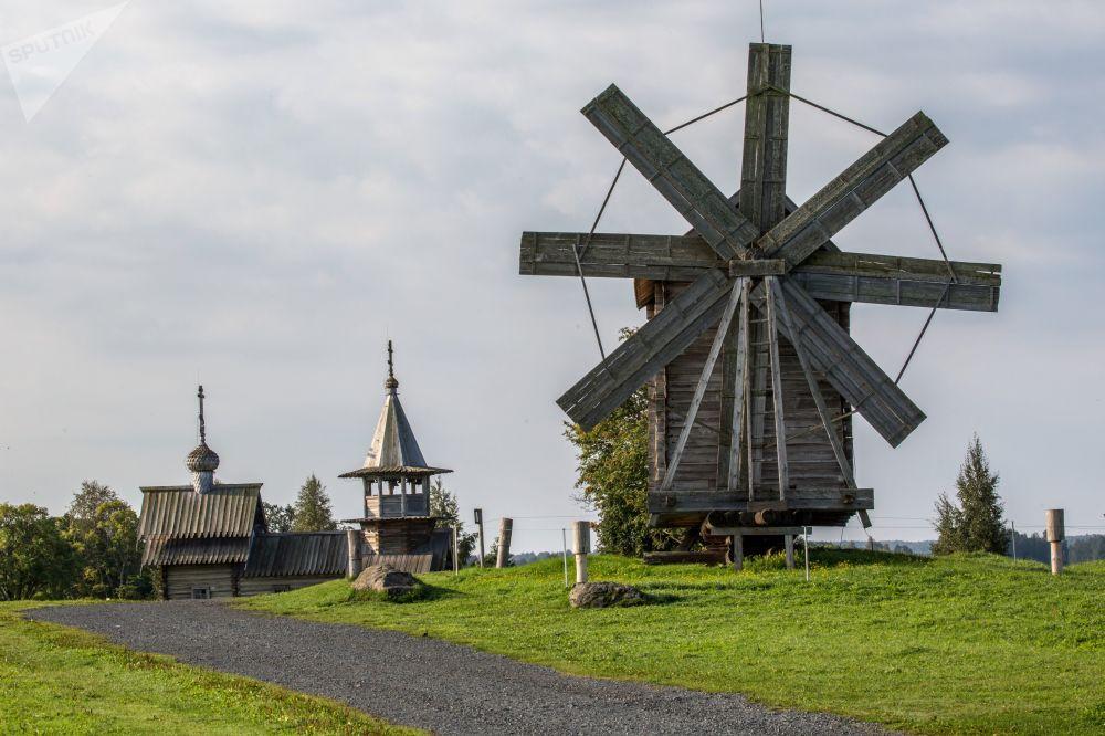 متحف كيجي على جزيرة كيجي في كاريليا، روسيا