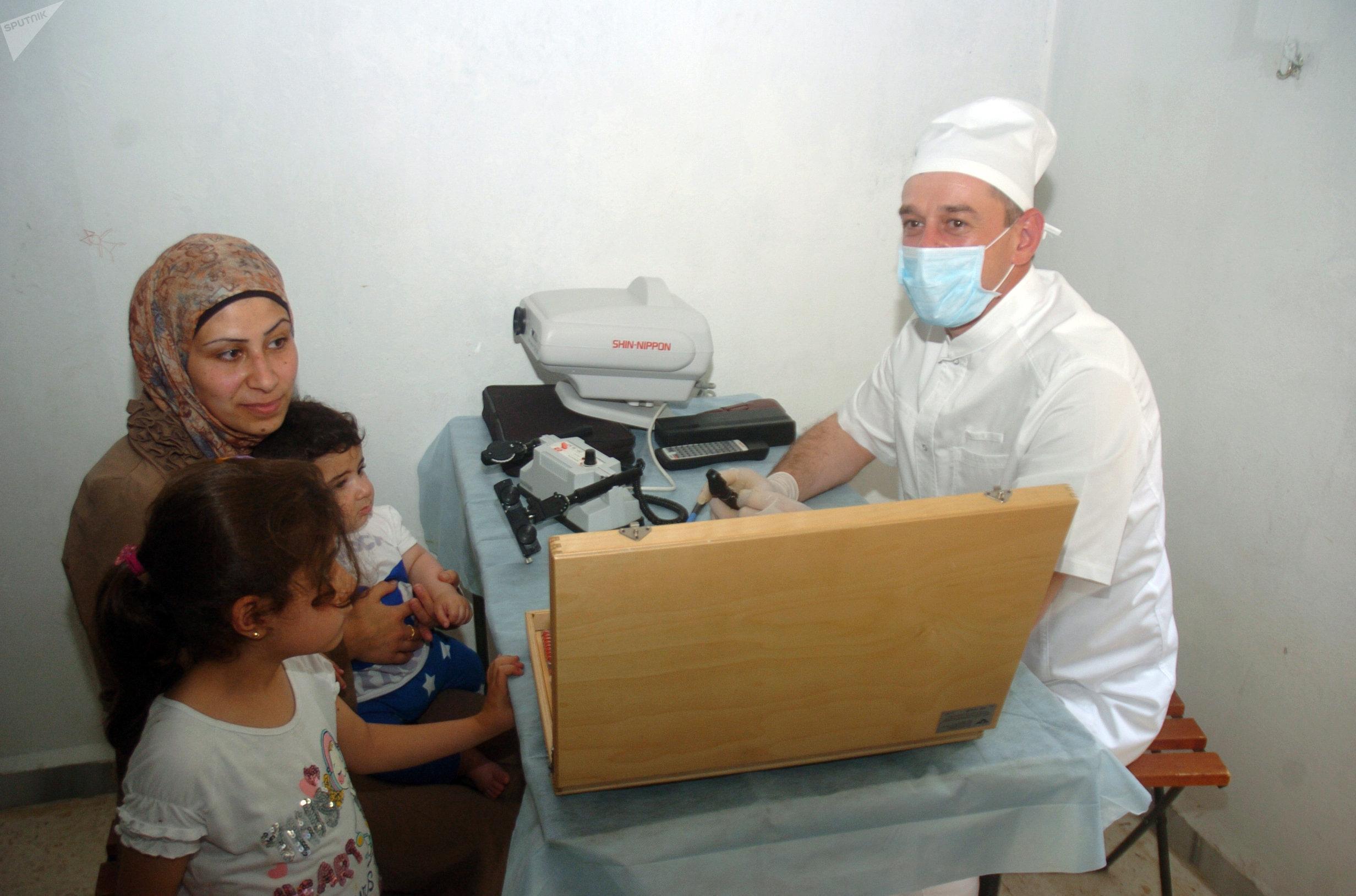 المساعدات الطبية لأهالي دير الزور