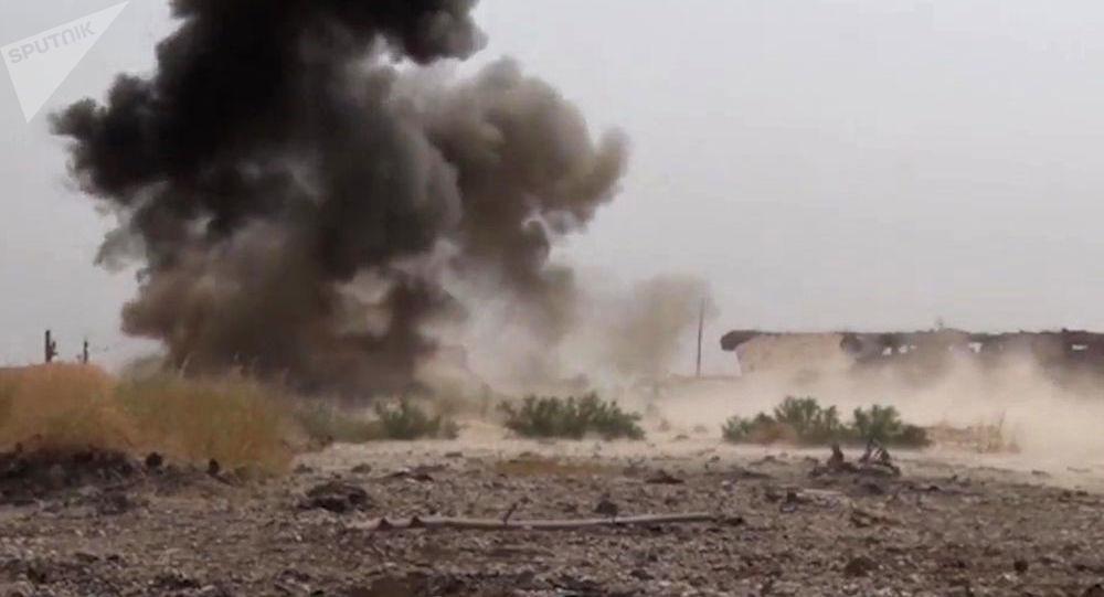 إزالة الألغام في دير الزور، سوريا