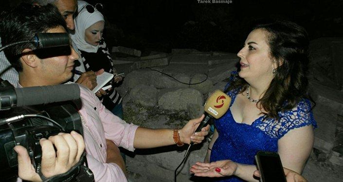 ميادة بسيليس وإياد الريماوي ...وانتصر نور حلب على ظلام الإرهاب