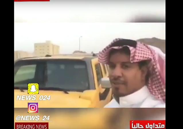 سعودي يهدي زوجته هامر