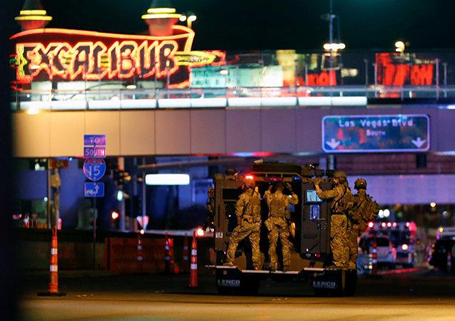 موقع هجوم لاس فيغاس