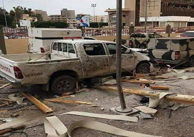 تفجير محكمة في مصراتة