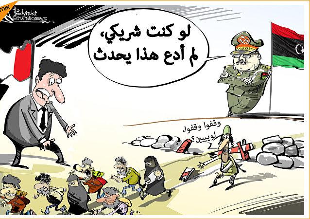 المسلحون الليبيون يخدعون الحكومة الإيطالية ولم يمنعون تدفق اللاجئين