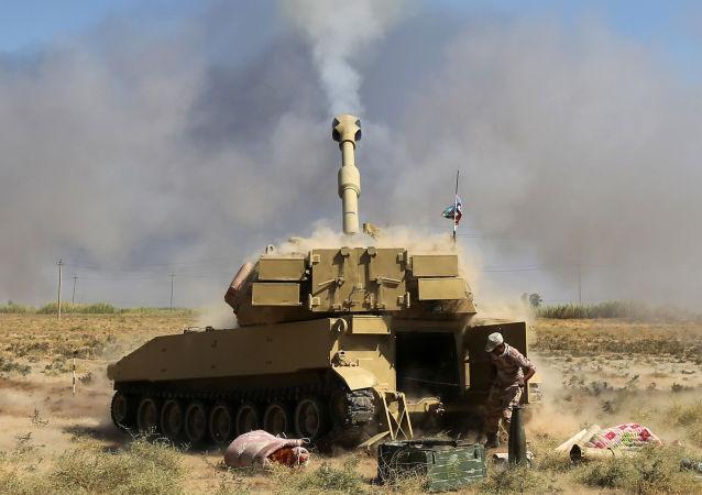معركة تحرير الحويجة، القوات العراقية، الجيش العراقي، الحشد الشعبي، العراق 4 أكتوبر/ تشرين الأول 2017